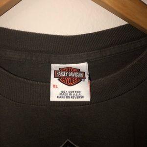 Harley-Davidson Shirts - Hartley-Davidson Redwood/Eureka, California Shirt